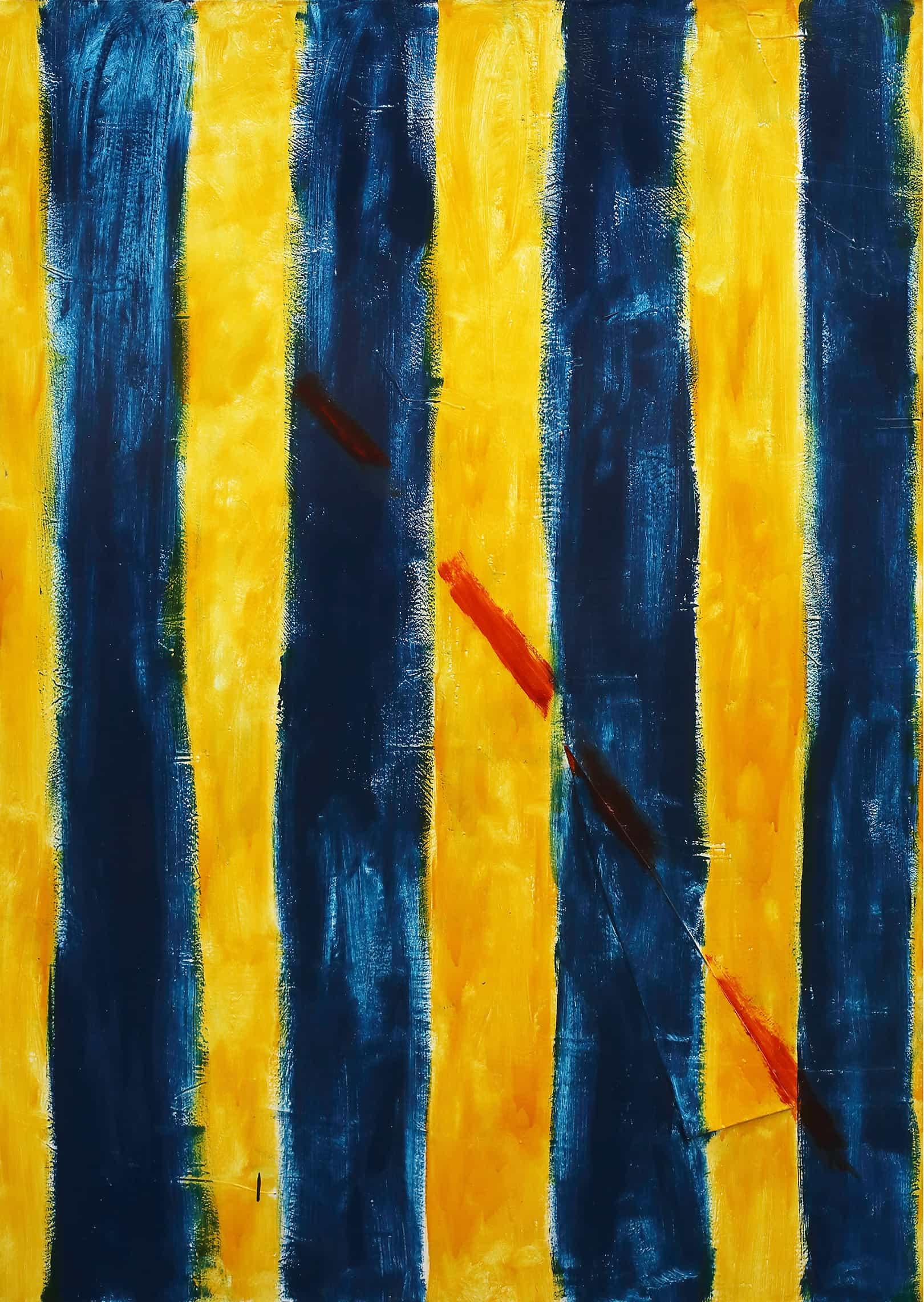 Gianfranco Notargiacomo - 1998 giallo e blu